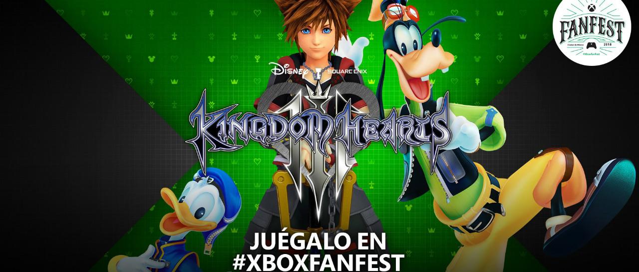 Kingdom Hearts III ser presentado en la Ciudad de Mxico