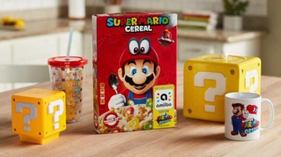 Mario cereal