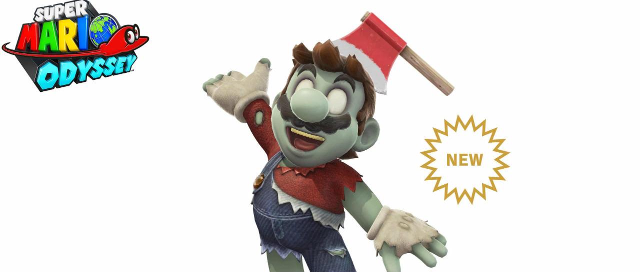 Mario ha muerto pero regres en forma de zombi