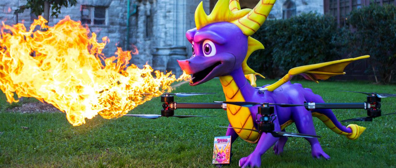 Observa la extraa promocin de Spyro Reignited Trilogy