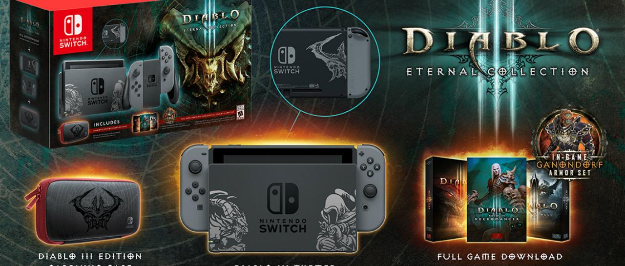 Switch Diablo III Bundle