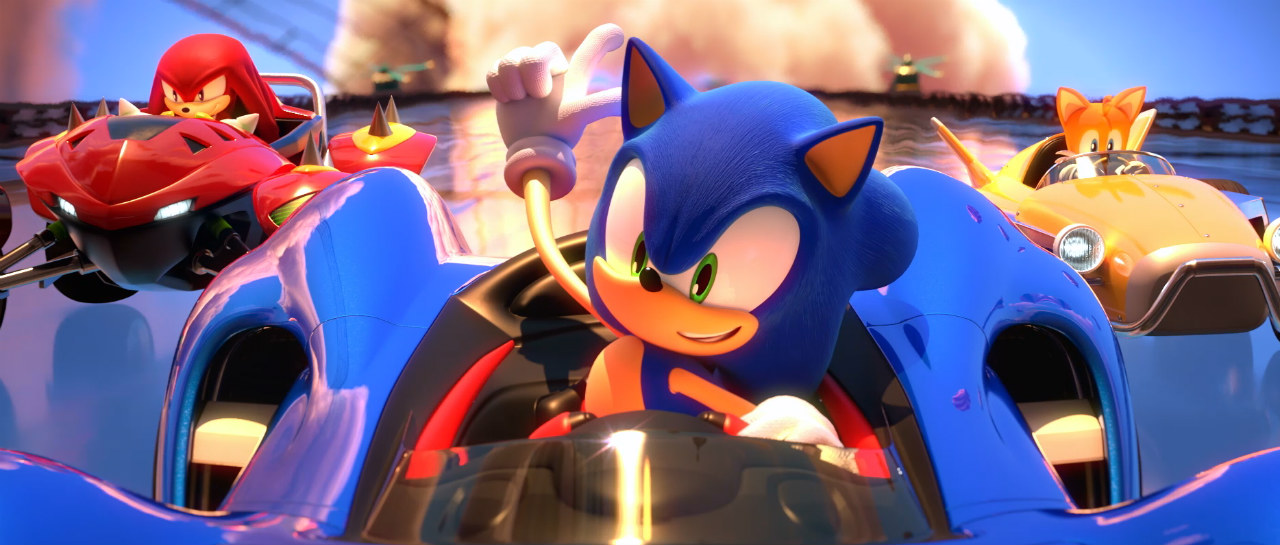 Team Sonic Racing baja la velocidad para su estreno