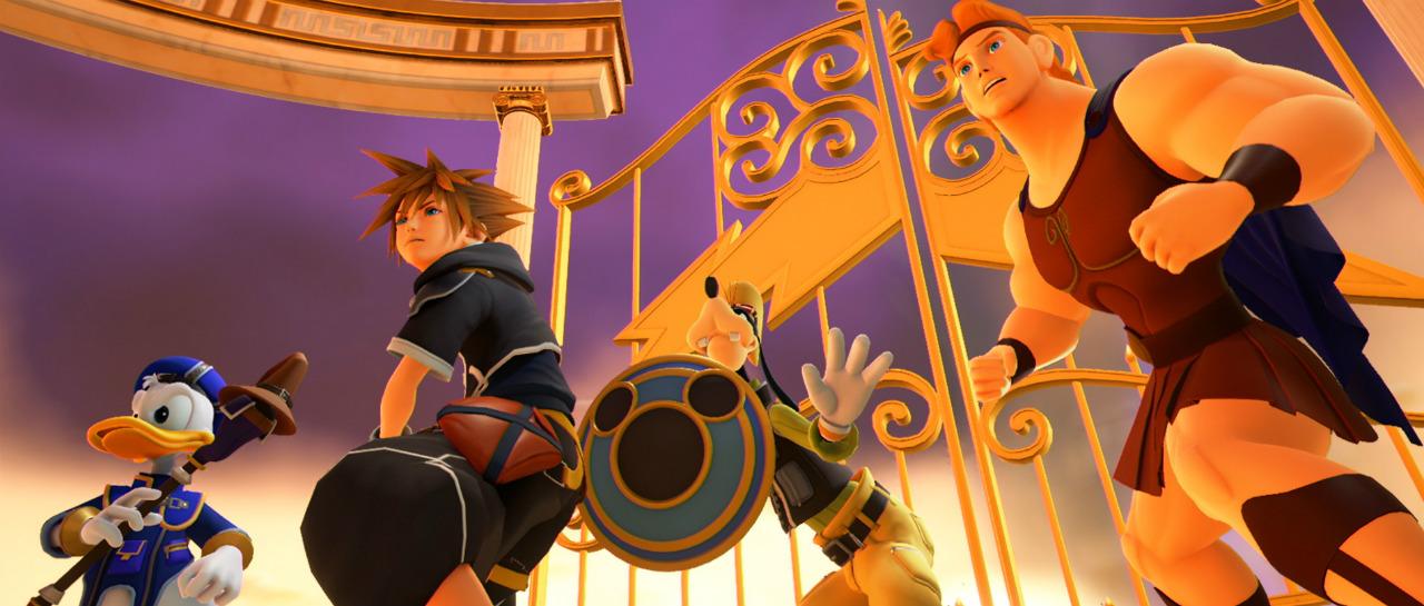 Tenemos nuevas imgenes de Kingdom Hearts III