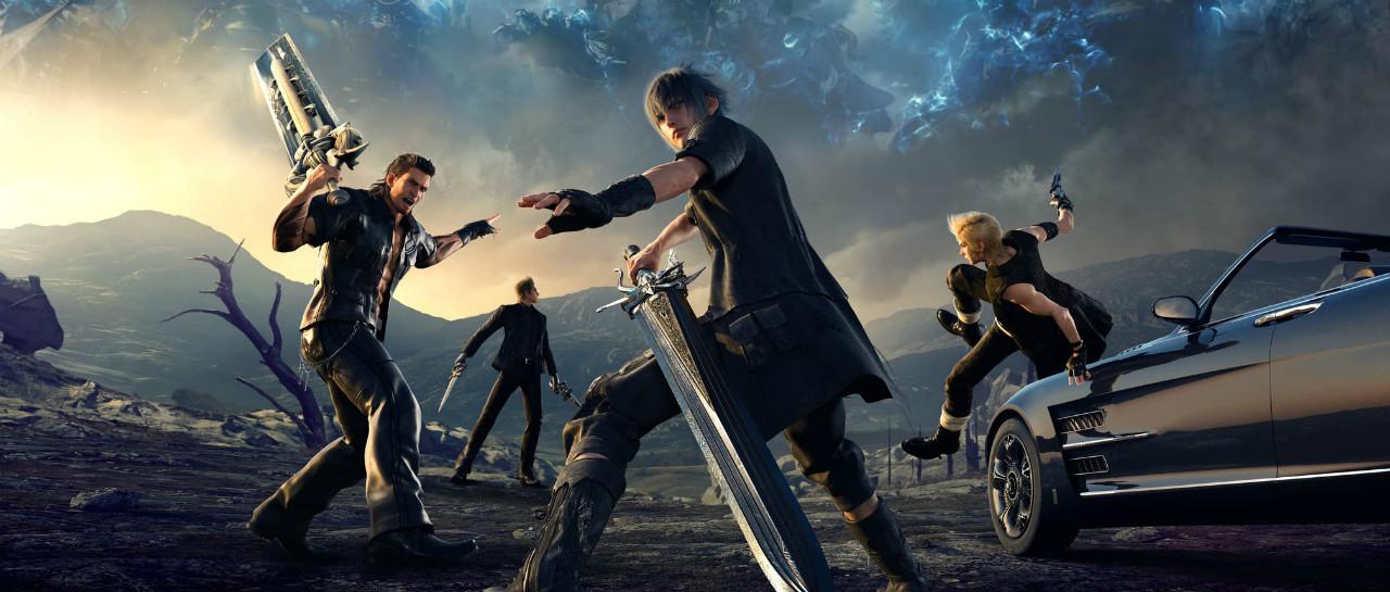 Anuncin livestream de Final Fantasy XV