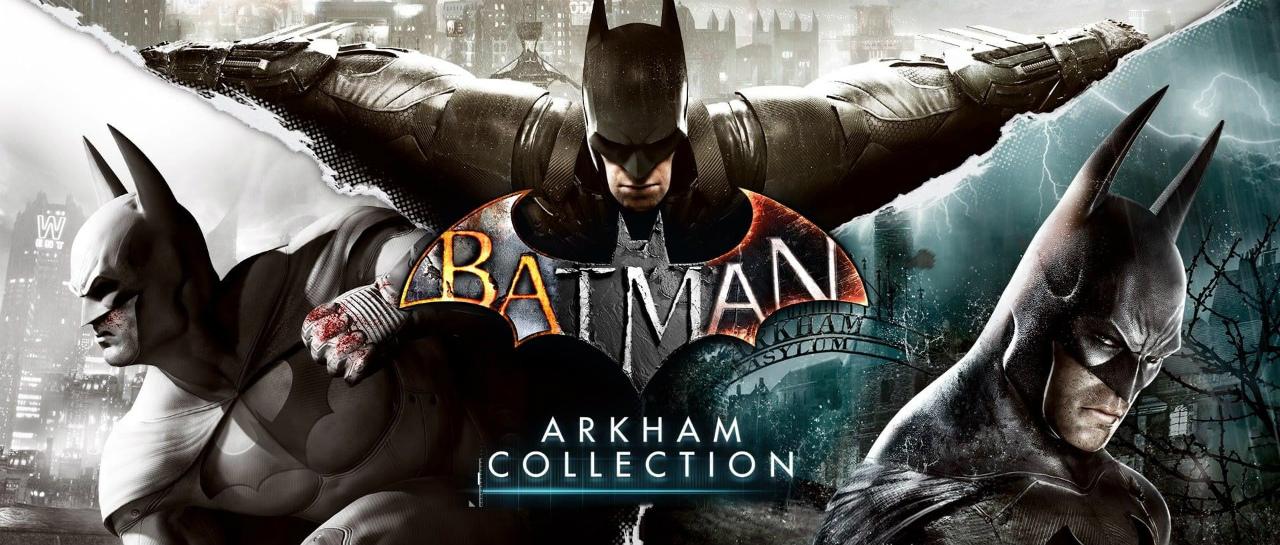 BatmanArkahmCollection