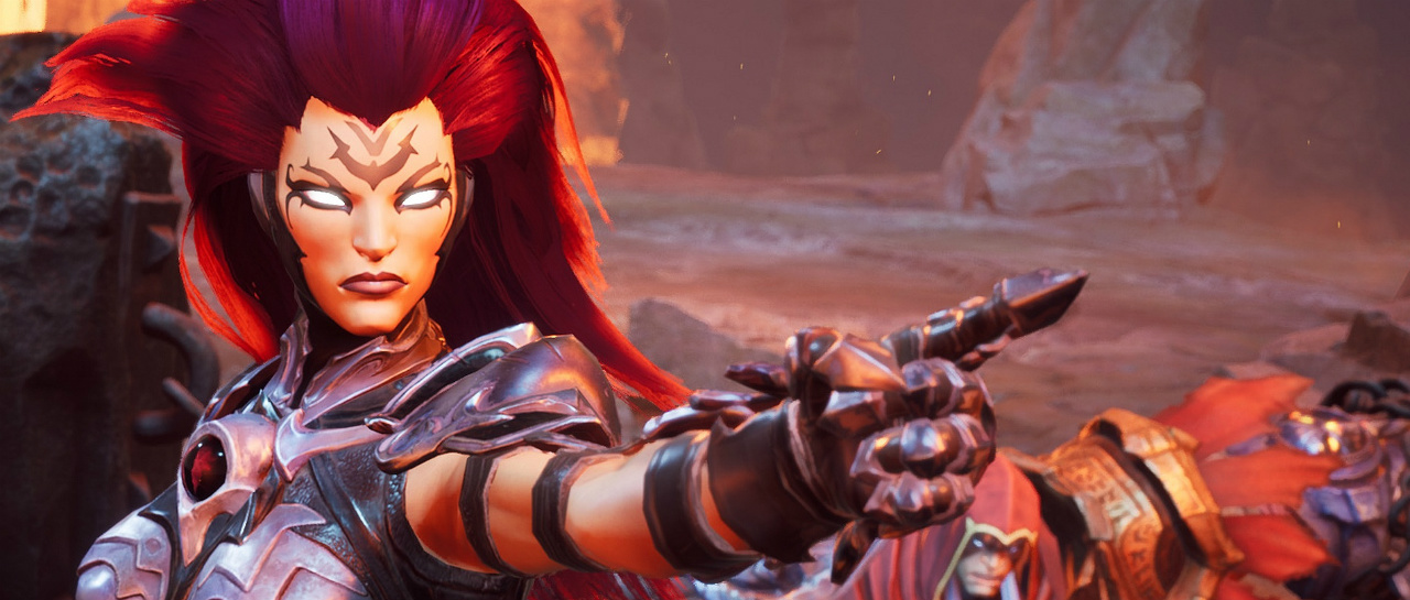 Darksiders III starts with a launch manager