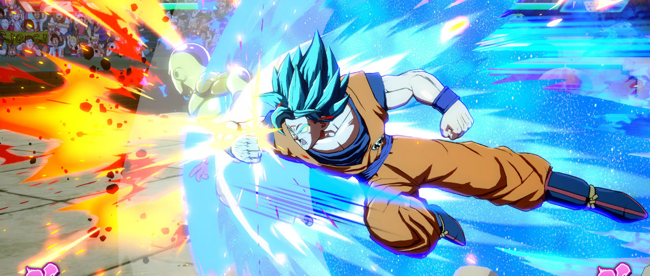 Dragon Ball FighterZ estrenar torneos y avatares navideos