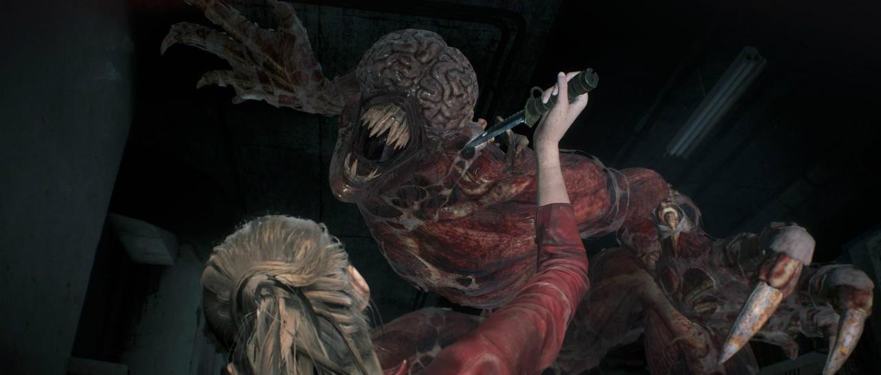 Espeluznante gameplay de Resident Evil 2