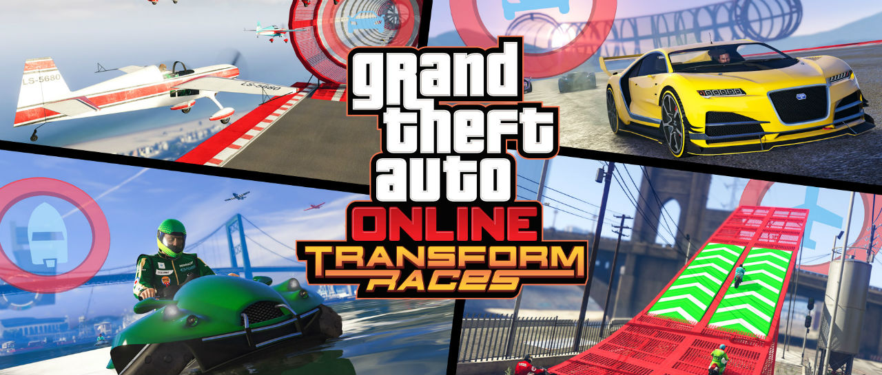 Grand Theft Auto Online races