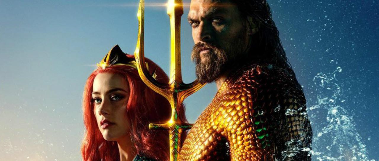 Mera se ve espectacular en el nuevo poster de Aquaman
