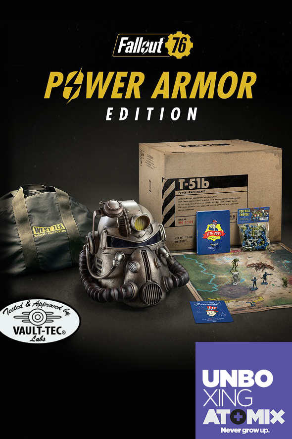 Poster Unboxing Fallout 76