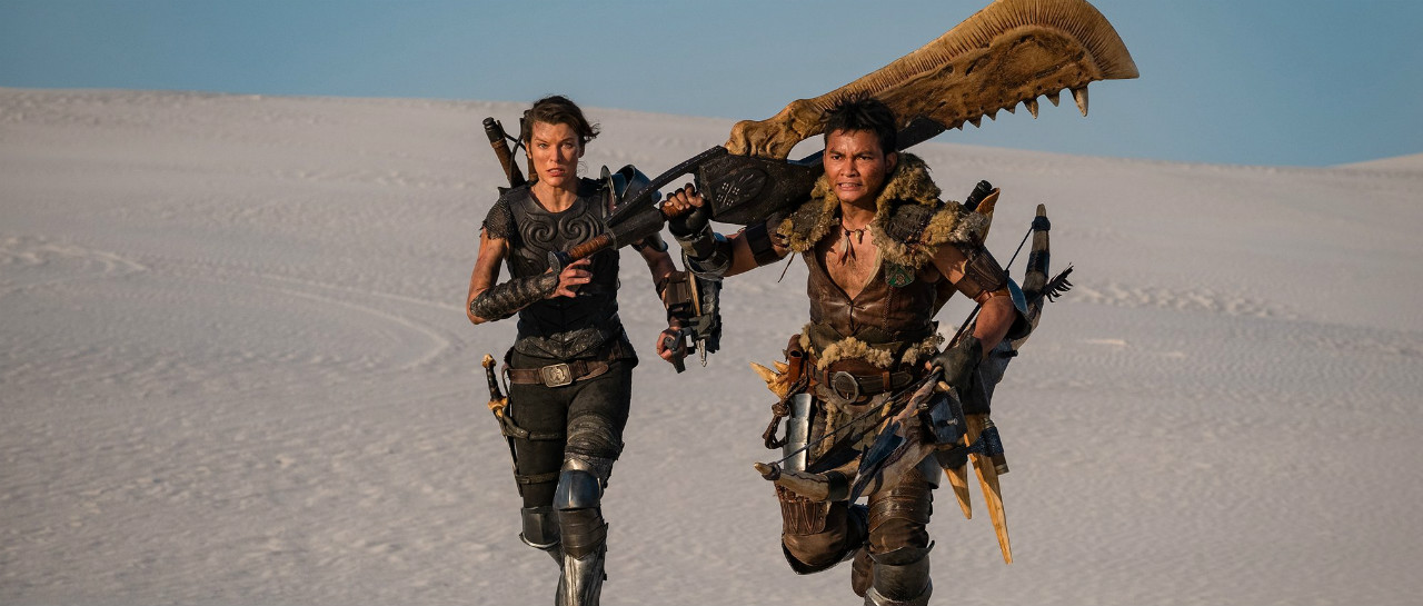 Publicaron un primer vistazo del film Monster Hunter