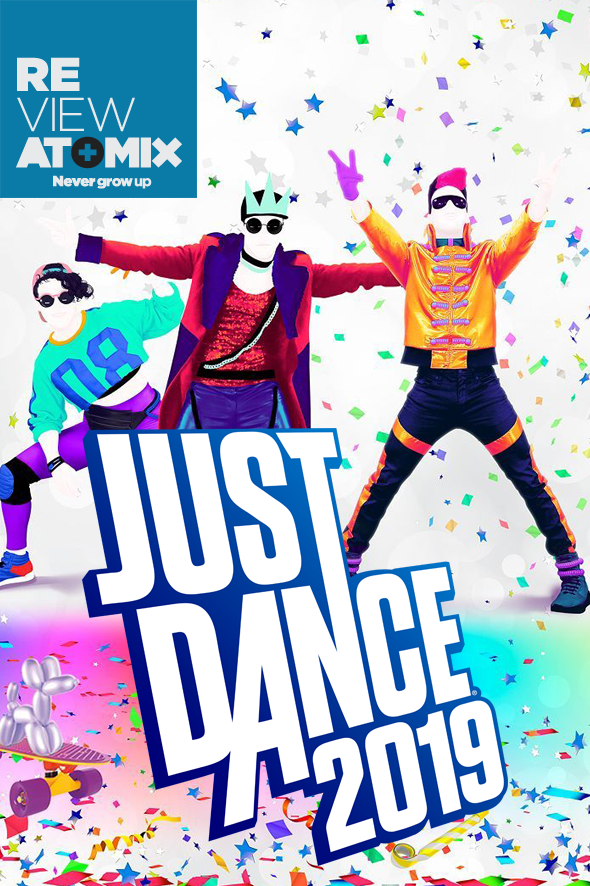 Review Just Dance 2019 Atomix