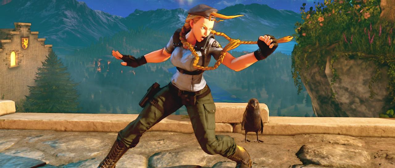 Street Fighter se viste de gala al estilo Resident Evil