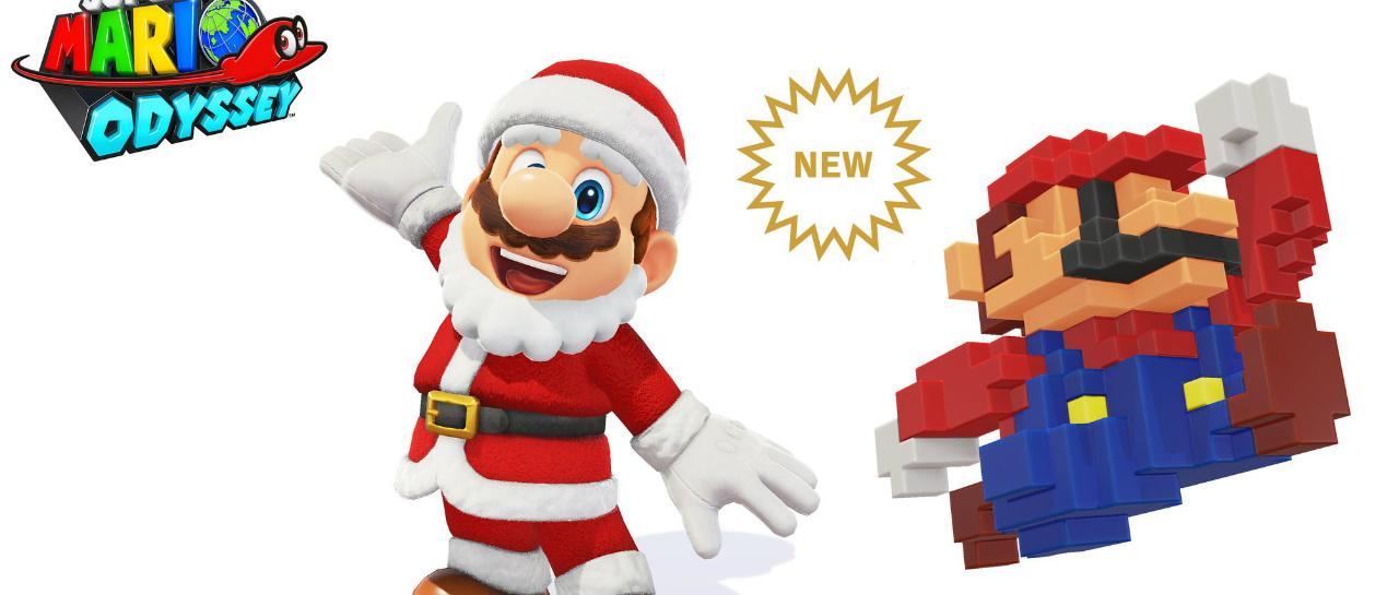 Super Mario Odyssey sumar dos vestuarios ms