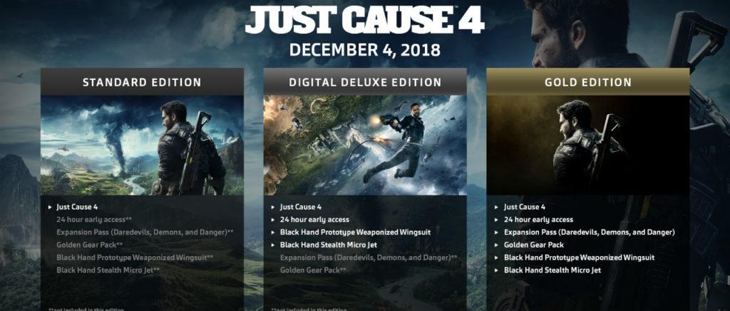 Ya anunciaron los primeros DLC para Just Cause 4