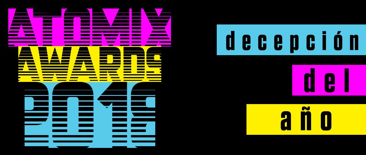 Awards 2018 Decepción