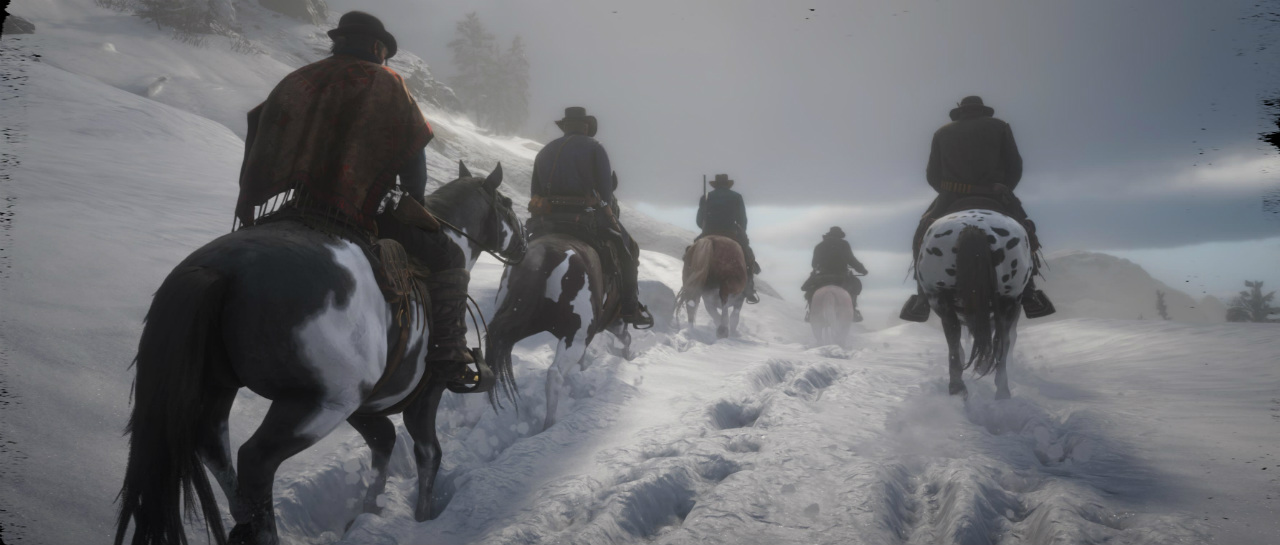 Descubrieron una zona nevada en Red Dead Redemption 2