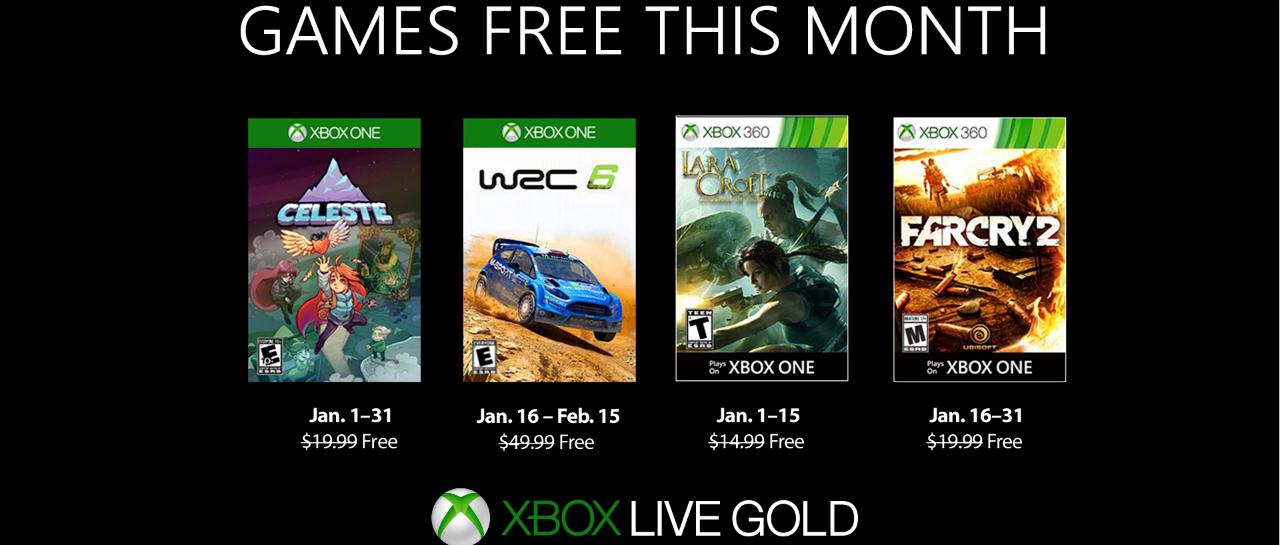 Revelados Los Juegos Gratuitos De Games With Gold De Enero Atomix