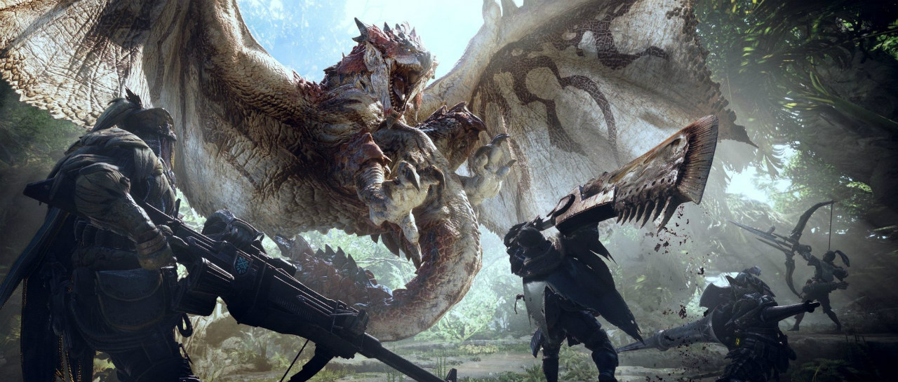 Monster Hunter unir fuerzas con The Witcher