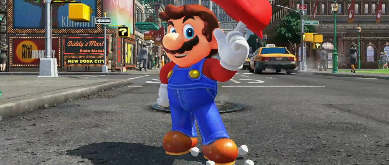 Recolectaron todas las lunas sin ser daado en Super Mario Odyssey