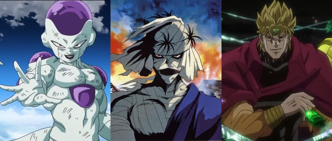 Japón Elige A Los 10 Villanos Más Memorables Del Anime Atomix