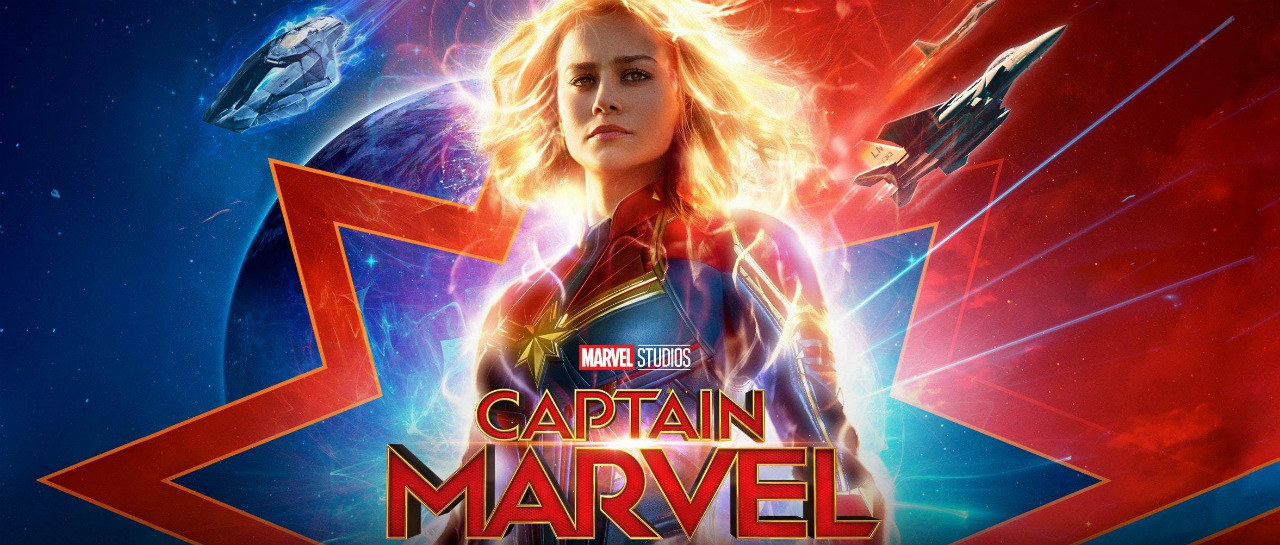 Captain Marvel trailer open