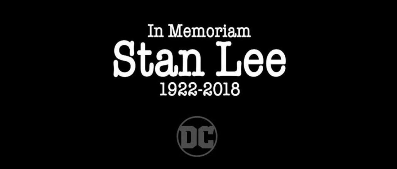 DC Comics inici el 2019 con homenaje a Stan Lee