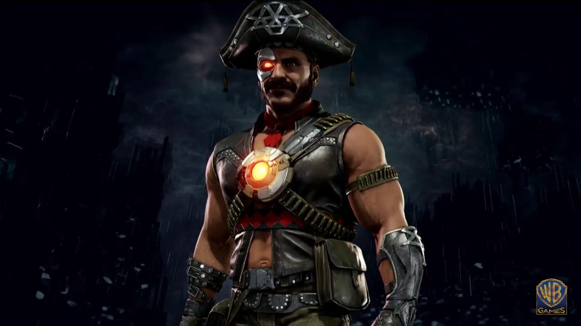 Kano Mortal Kombat 11 Pirate Skin