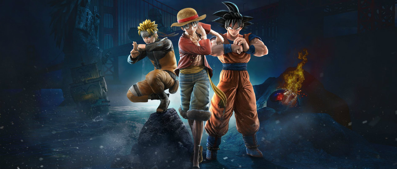 Lluvia de trlers y bonus de Naruto One Piece y Dragon Ball en Jump Force
