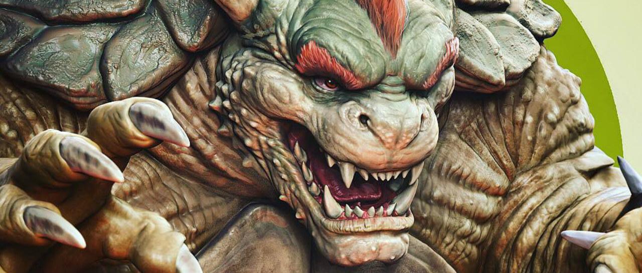 Reimaginaron a los personajes de Smash Bros al estilo God of War