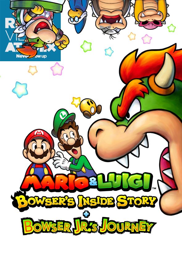 Review Mario & Luigi- Bowser's Inside Story + Bowser Jr's Journey