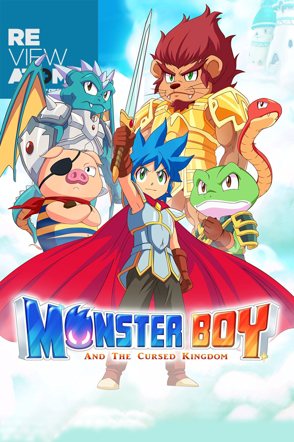 Review Monster Boy and the Cursed Kingdom