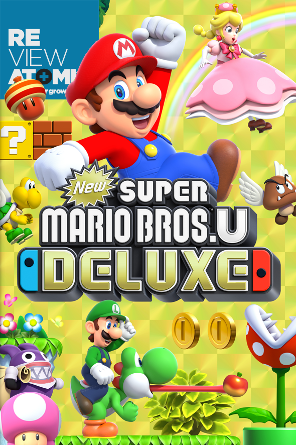 Review New Super Mario Bros. U Deluxe