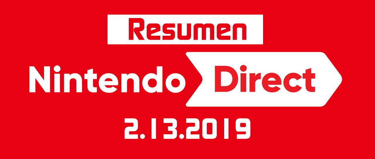Summary – Nintendo Direct 2 13 2019
