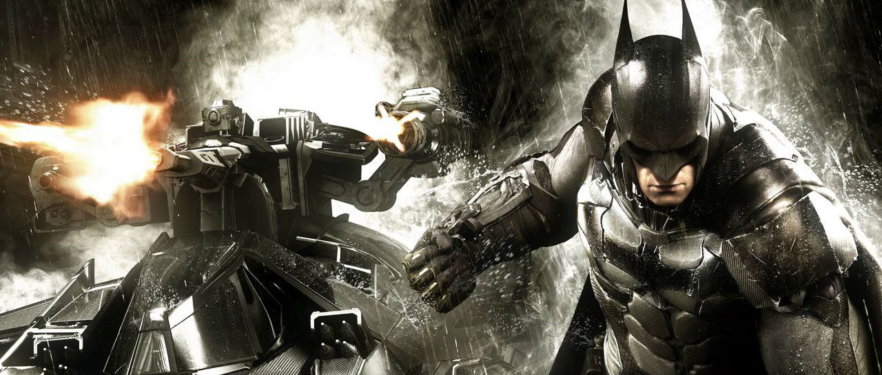 Batman Arkham Knight Rocksteady Atomix