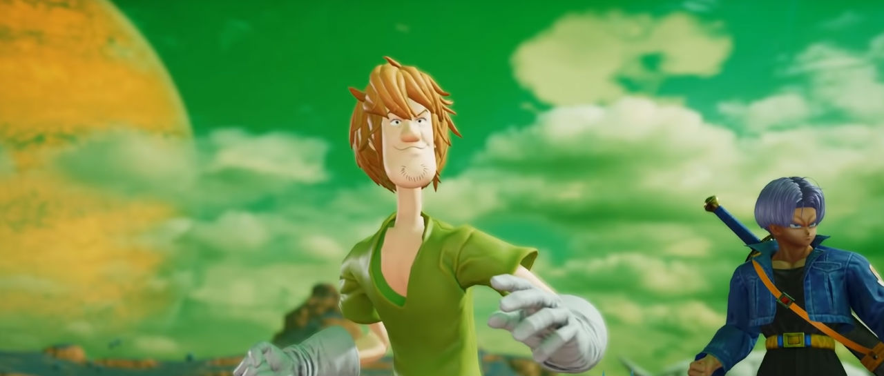 Shaggy en Jump Force Atomix