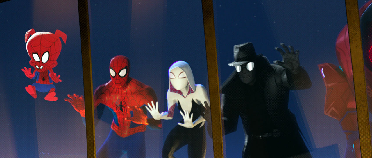 SpiderMan Into SpiderVerse Atomix
