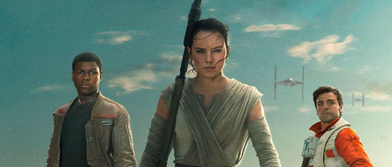 Star Wars Rey Finn Poe Atomix