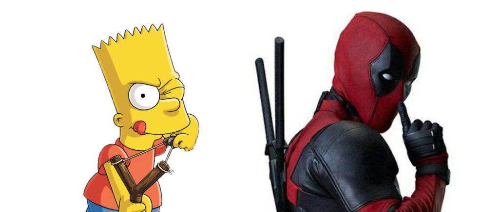Bart Deadpool Disney Atomix