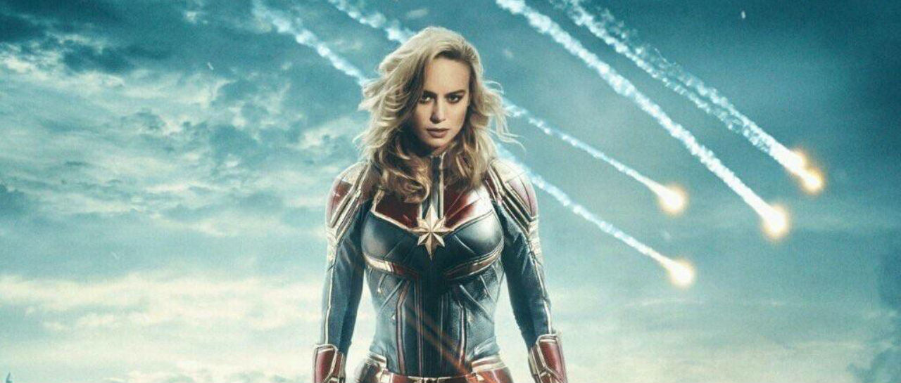 Captain Marvel poster Atomix