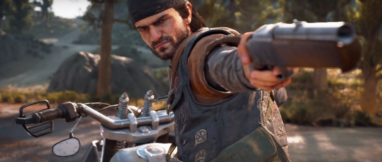 Days Gone trailer historia Atomix
