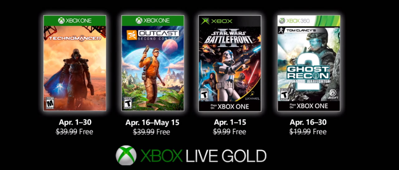 The Free Games Of April 2019 Xbox Games With Gold Were Unveiled