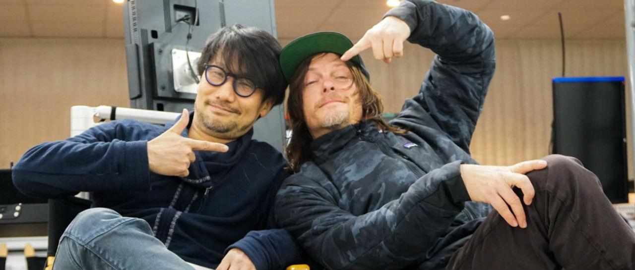 Hideo Kojima Norman Reedus Atomix