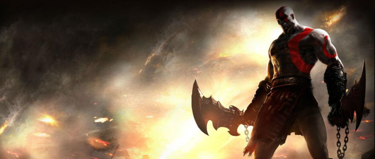 Kratos God of War Atomix