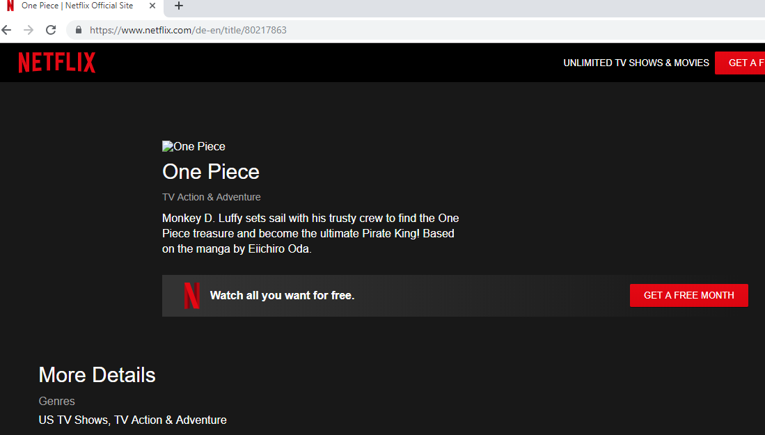 Netflix_One Piece