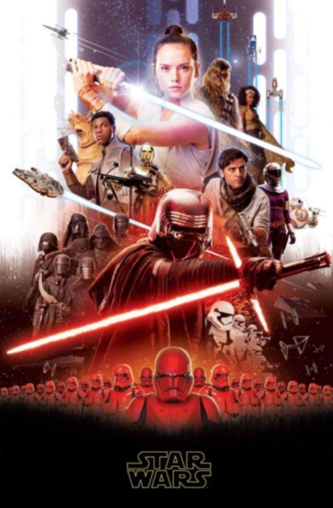Star Wars Ep 9 Poster Filtrado Atomix
