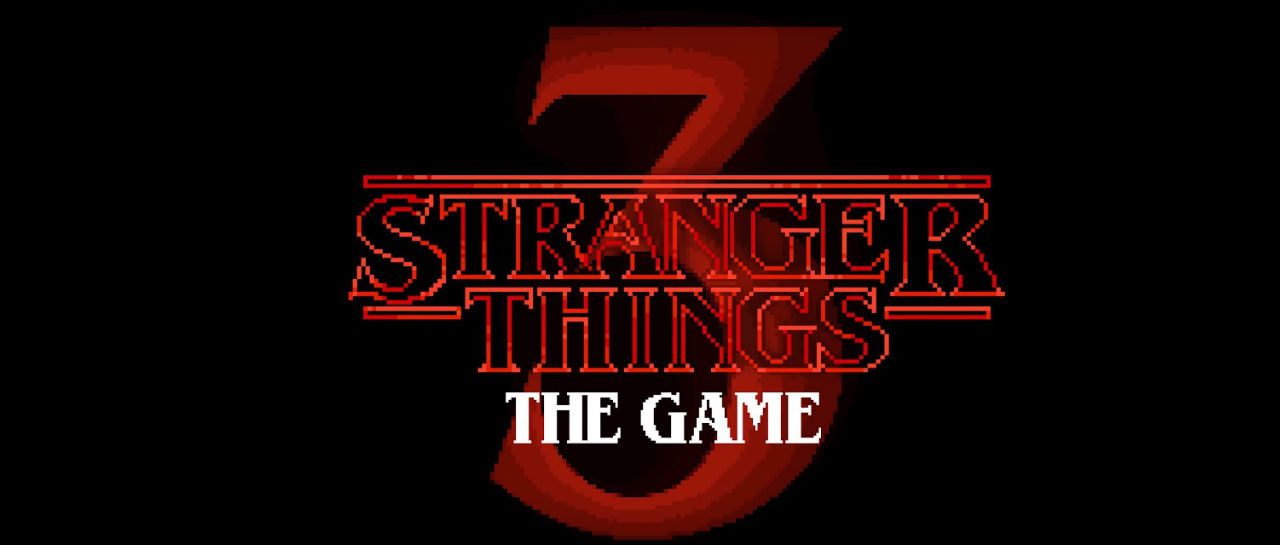 Stranger Things 3 Game Atomix