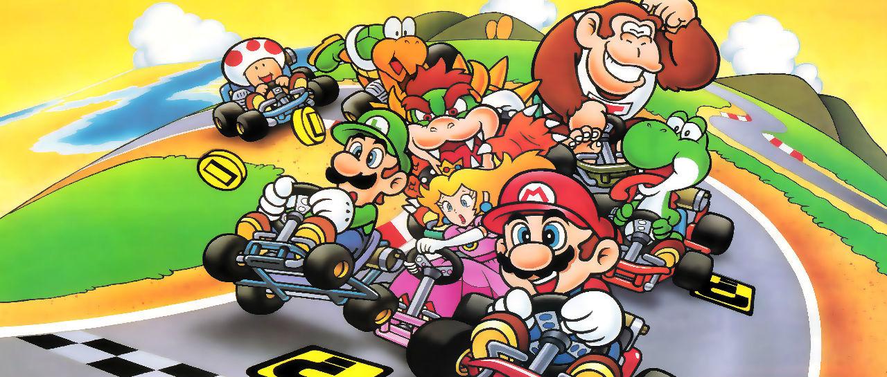 Super Mario Kart Atomix