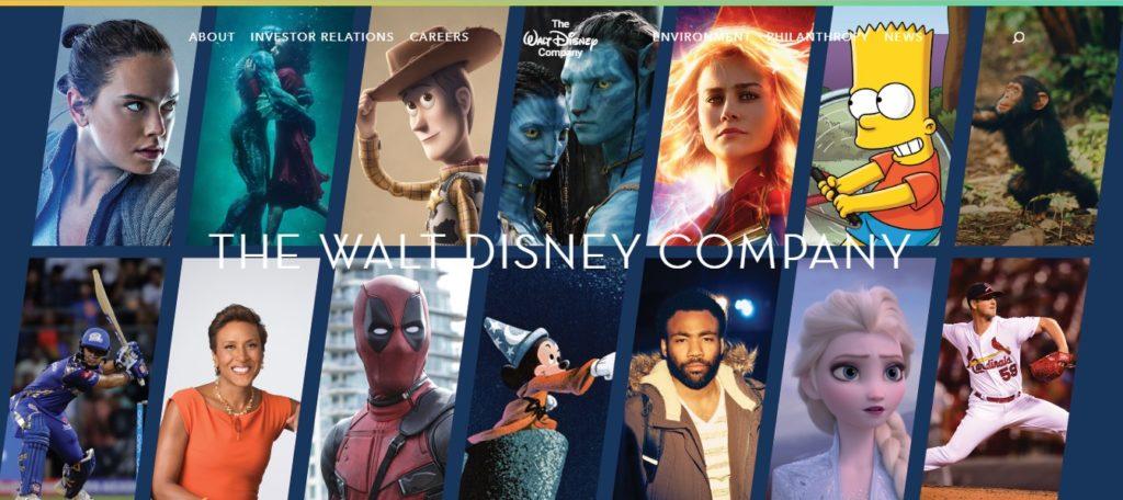 Walt Disney Web Atomix